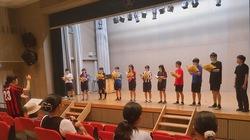 第9回 市立長野高校文化祭「璃翔祭」で合同演奏