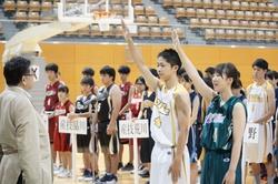 男女主将による選手宣誓