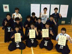 平成27年度 関東信越地区高等専門学校体育大会・剣道競技