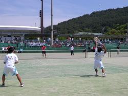 平成23年度長野県高等学校総合体育大会ソフトテニス競技