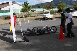 後輪を一般的なチェーンではなく歯車で駆動する「Gearful ver.II」