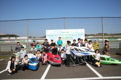 参加したメンバーと車両