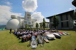 長野県内の中学校などから合計18チームが参加した