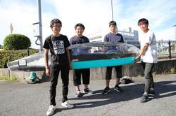 「長野高専 Helimes」チームのメンバー