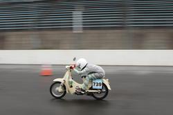 二輪車クラスに出場した「長野高専 バイク北村バイク」