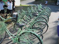 生まれ変わった自転車たち