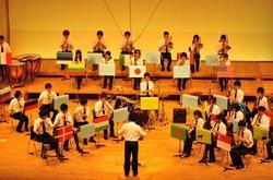 吹奏楽部が定期演奏会を開催