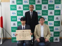 長野高専の技術職員が技能検定1級に合格し県内1位の成績により知事表彰を受賞