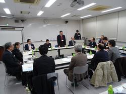 【写真1】会議 長野高専石原校長(写真中央)