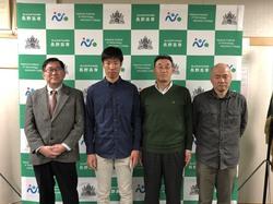嶋田悠二君(機械工学科3年)が全国高等学校スキー大会に出場しました