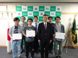 """修了式 集合写真 (""""Certificate of Completion"""" Presentation Ceremony)"""