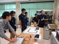 電子制御工学科との交流 (Department of Electronics and Control Engineering)