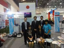 タイ教育省および日本ブース担当者と
