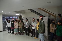 クリスマスコンサートを開きました(平成27年度版)