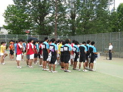 平成25年度関東信越地区高等専門学校体育大会ソフトテニス競技
