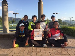 第43回北信高等学校対抗戦ソフトテニス大会 準優勝
