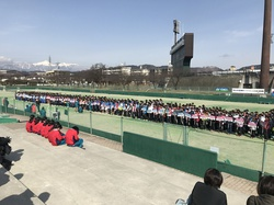 第4回テレビ松本杯争奪学校対抗ソフトテニス大会