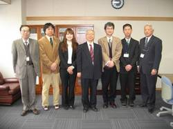 カーリング女子日本代表 山浦麻葉さんが長野高専を訪問