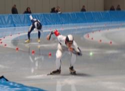 小島君がインターハイ・スピードスケート競技に出場決定