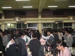 卒業寮生送別夕食会を開催