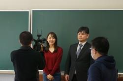 SBC信越放送目黒アナウンサー、宮下准教授
