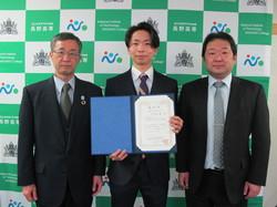 専攻科電気情報システム専攻 北澤太基さんが電子情報通信学会環境電磁工学研究会若手優秀賞を受賞